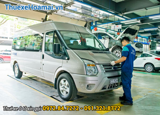 gara chuyên sửa xe ford transit